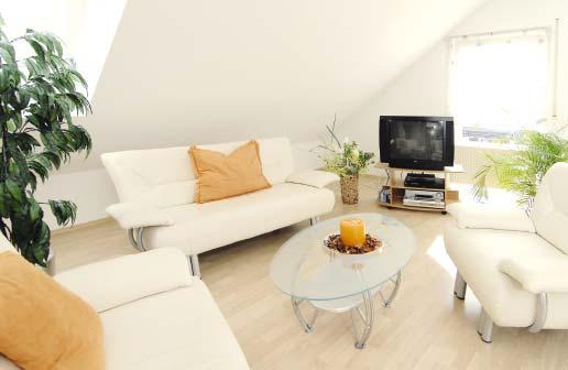 Appartements Rhein-Main: Beispiel-Appartement